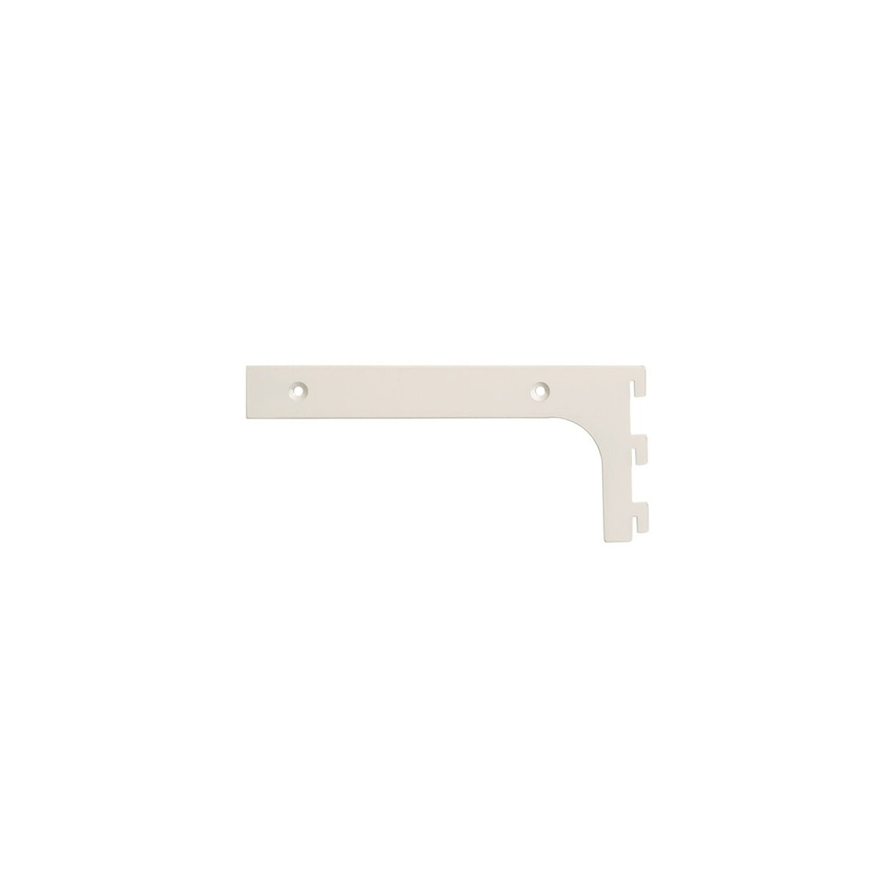 MAXe 30 mm shelf bracket set 200 mm D  30 H x 2.5 mm Thick E6002