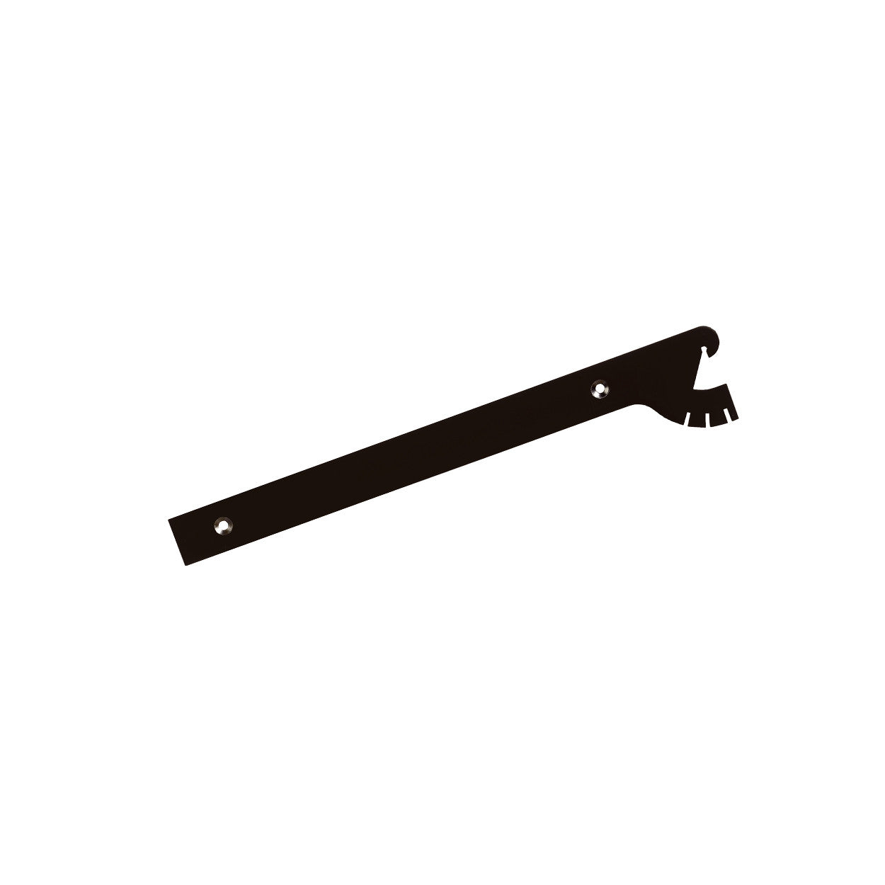 Maxe 300Mm Shelf Bracket Multi Angle Set With Screws & Tool 300 L X 2.5Mm Thick E6103BK