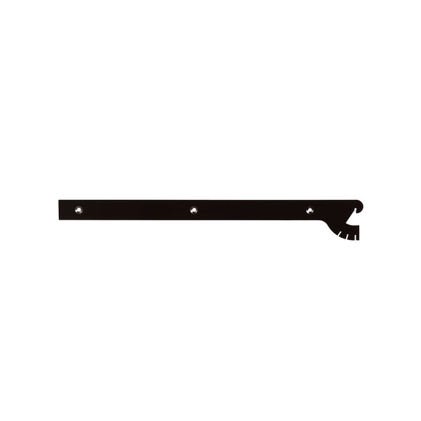 Maxe 400Mm Shelf Bracket Multi Angle Set With Screws & Tool 400 L X 2.5Mm Thick