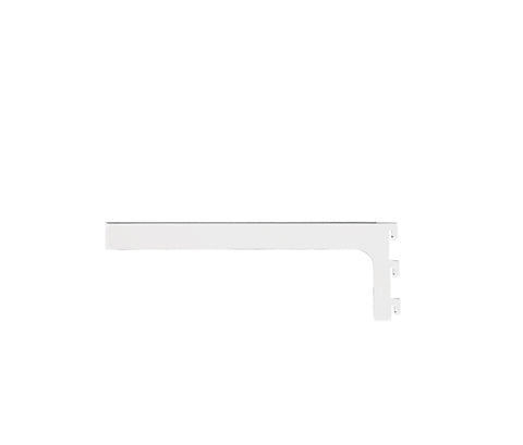 Maxe 300 Mm Glass Shelf Bracket Set With Screws & Tool 300 L X 2.5Mm Thick