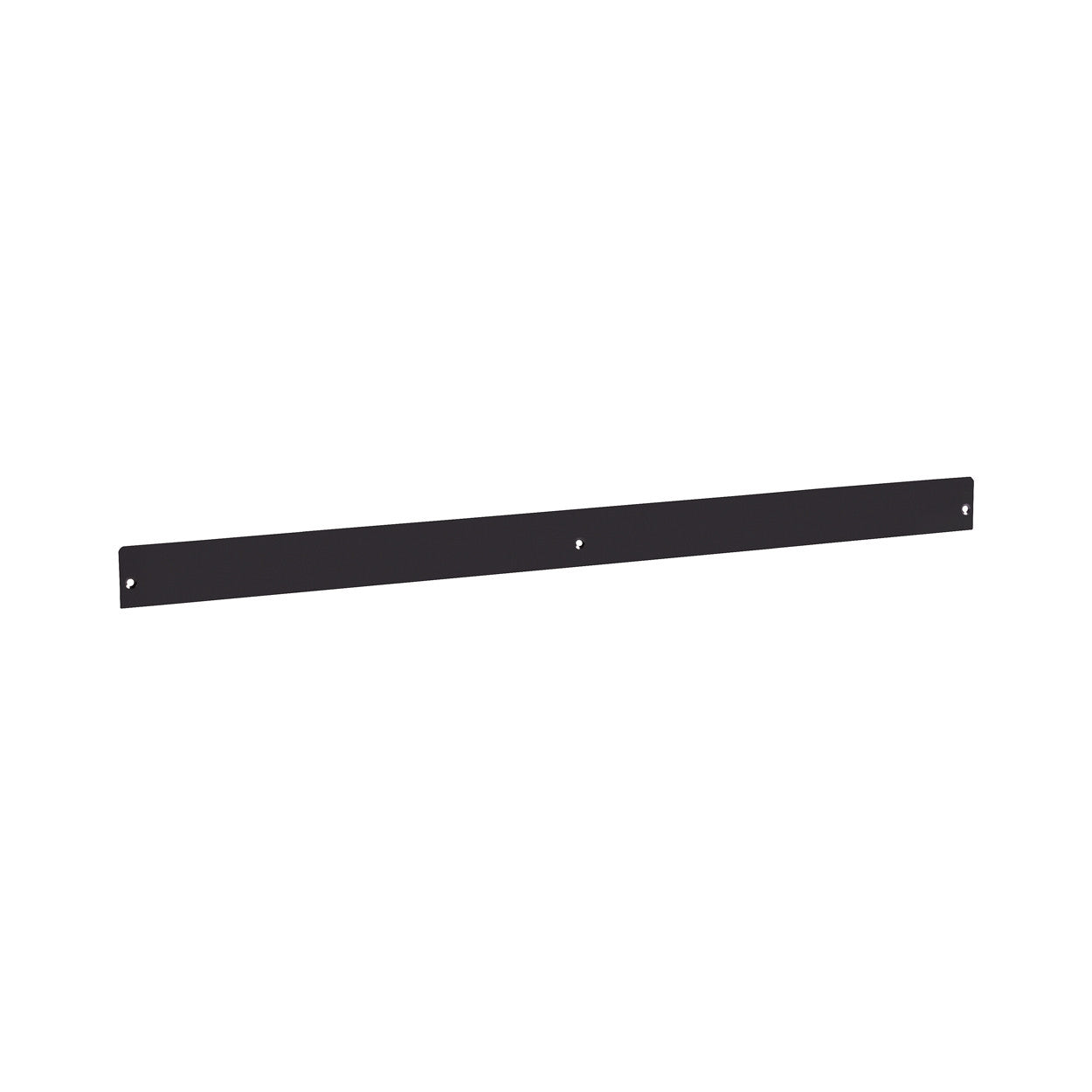 MAXe 30 mm shelf lip 52 H - 900 mm bay  893 W x 2.5 mm Thick E7009BK