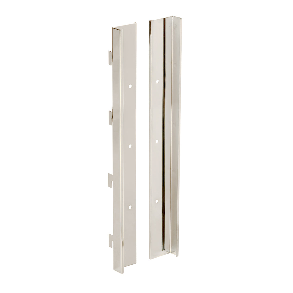 MAXe slatwall panel bracket set 560 mm H  560 H x 18 mm Thick E8005BK