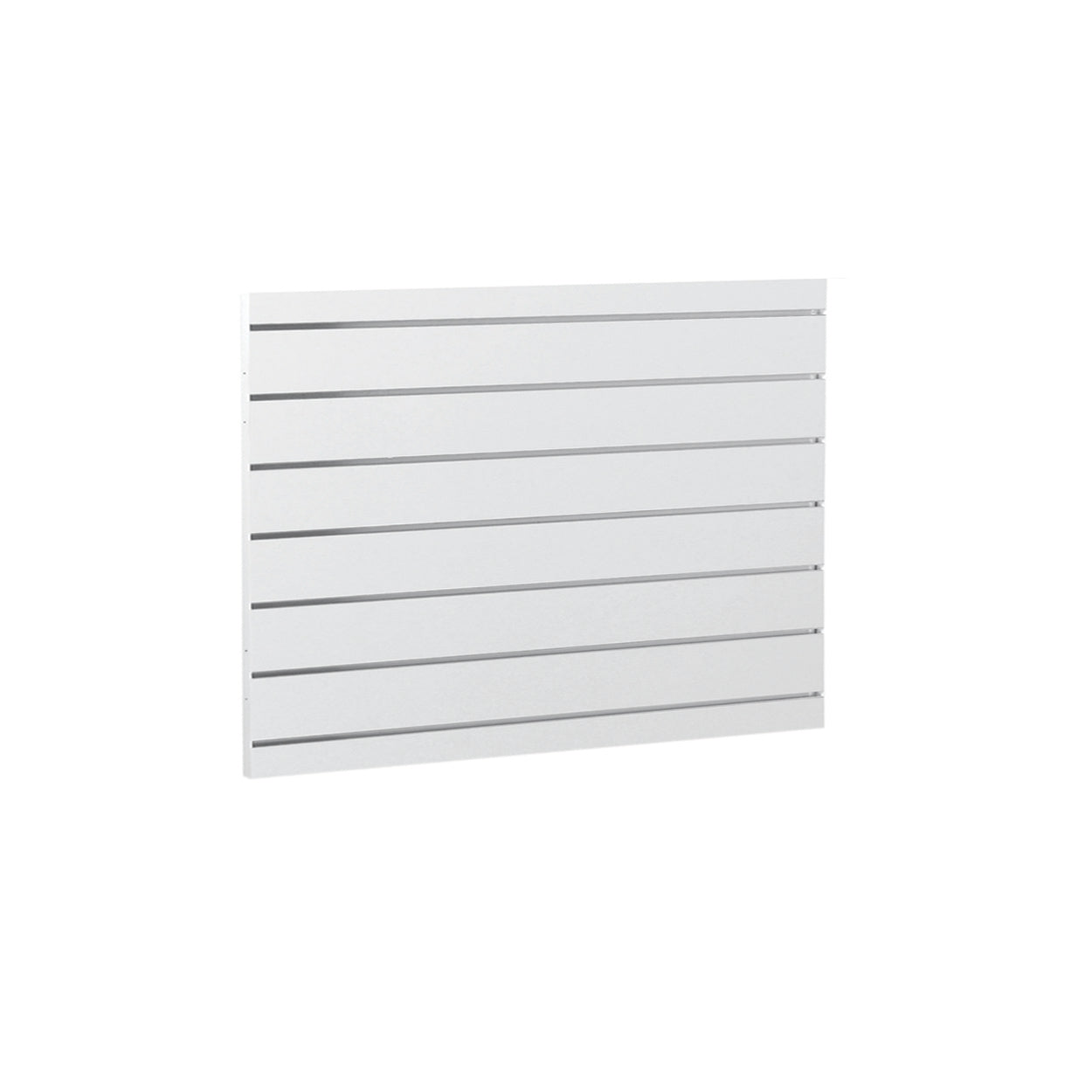 MAXe slatwall panel 560 H - 600 mm bay  590 W x 18 mm Thick E8006BK