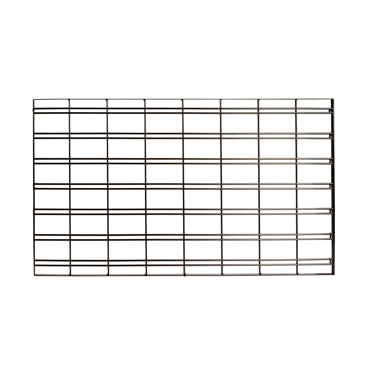 MAXe slatwall mesh panel 560 H - 1200 mm bay  1190 W x 18 mm Thick E8212BK