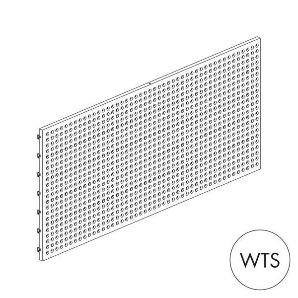 MAXe Pegboard Metal Panel (560mm H x 1200mm W)