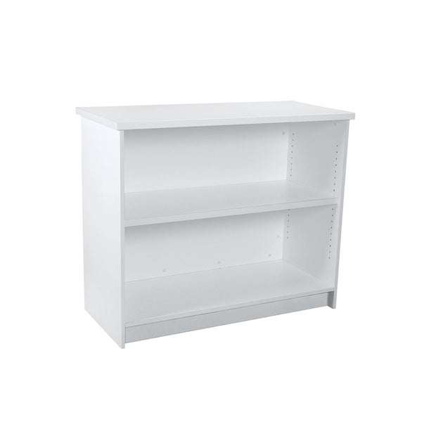 Counter 1200 mm with timber laminate with adjustable shelf  1200 W x 1000 H x 544 mm D F4012WH
