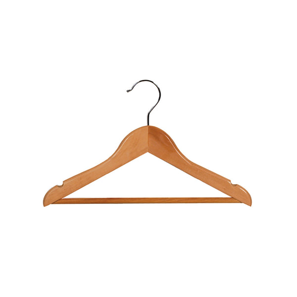 Beech Baby Top Timber Hanger With Rail & Notches 310 W X 12Mm Thick (Box of 100)