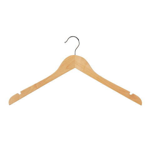 Beech Top Timber Wishbone Hanger With Notches 440 W X 14Mm Thick Beech (Box of 100)
