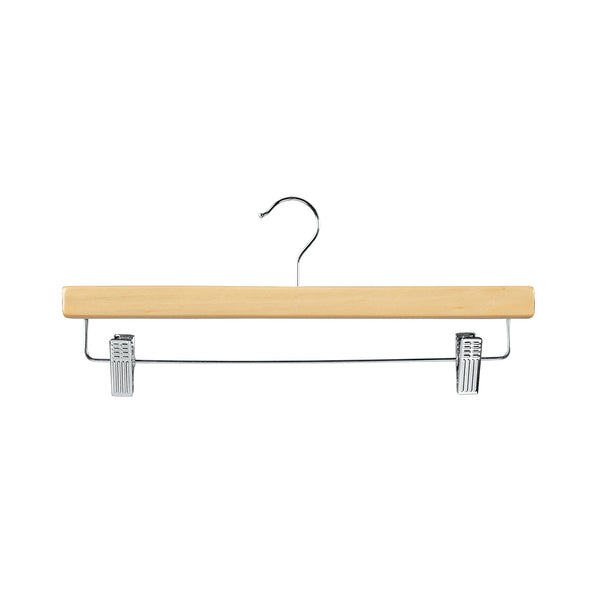 Beech Clip Timber Hanger With Dropdown Rail & Clips 380 W X 12Mm Thick (Bundle of 10)