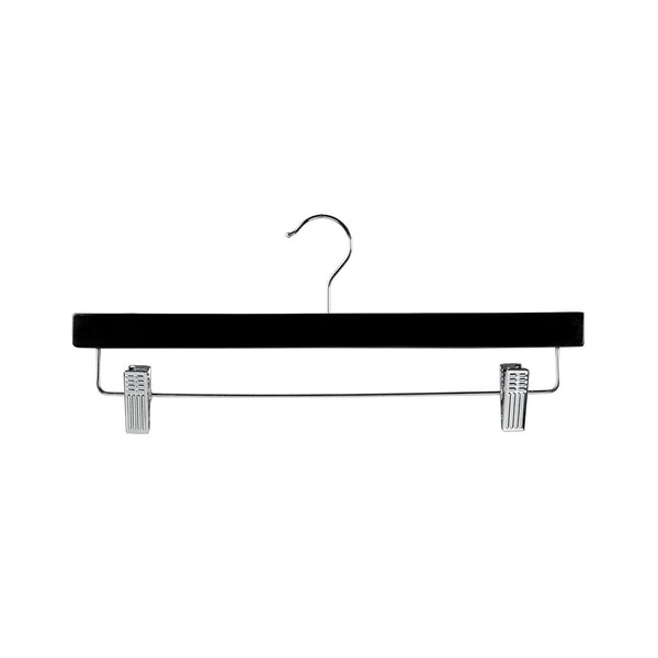 Black Clip Timber Hanger With Dropdown Rail & Clips 380 W X 12Mm Thick (Box of 100)