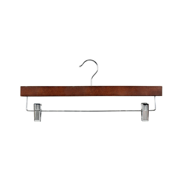 Wenge Clip Timber Hanger With Dropdown Rail & Clips 380 W X 12Mm Thick (Bundle of 50)