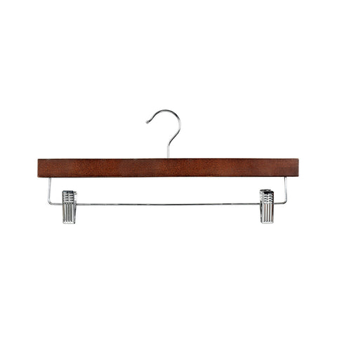 Wenge Clip Timber Hanger With Dropdown Rail & Clips 380 W X 12Mm Thick (Box of 100)