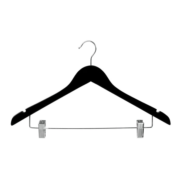 Black Top Timber Hanger With Notches Dropdown Rail & Clips 440 W X 14Mm Thick (Bundle of 10)