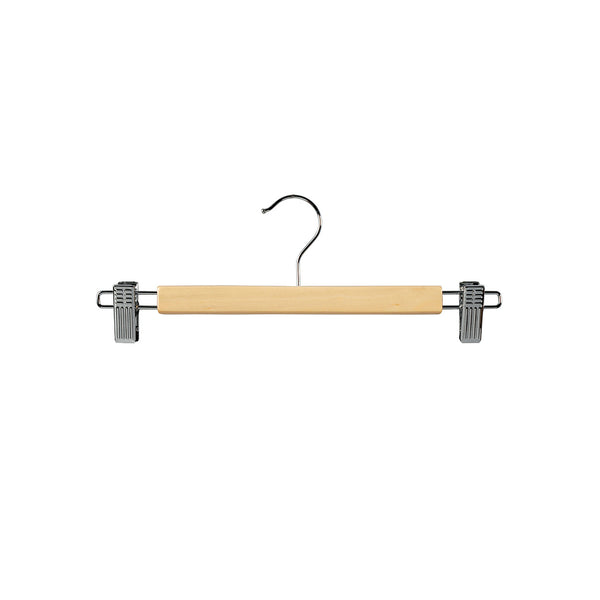 Beech Clip Timber Hanger With Chrome Clips At Ends 330 W X 12Mm Thick (Box of 100)
