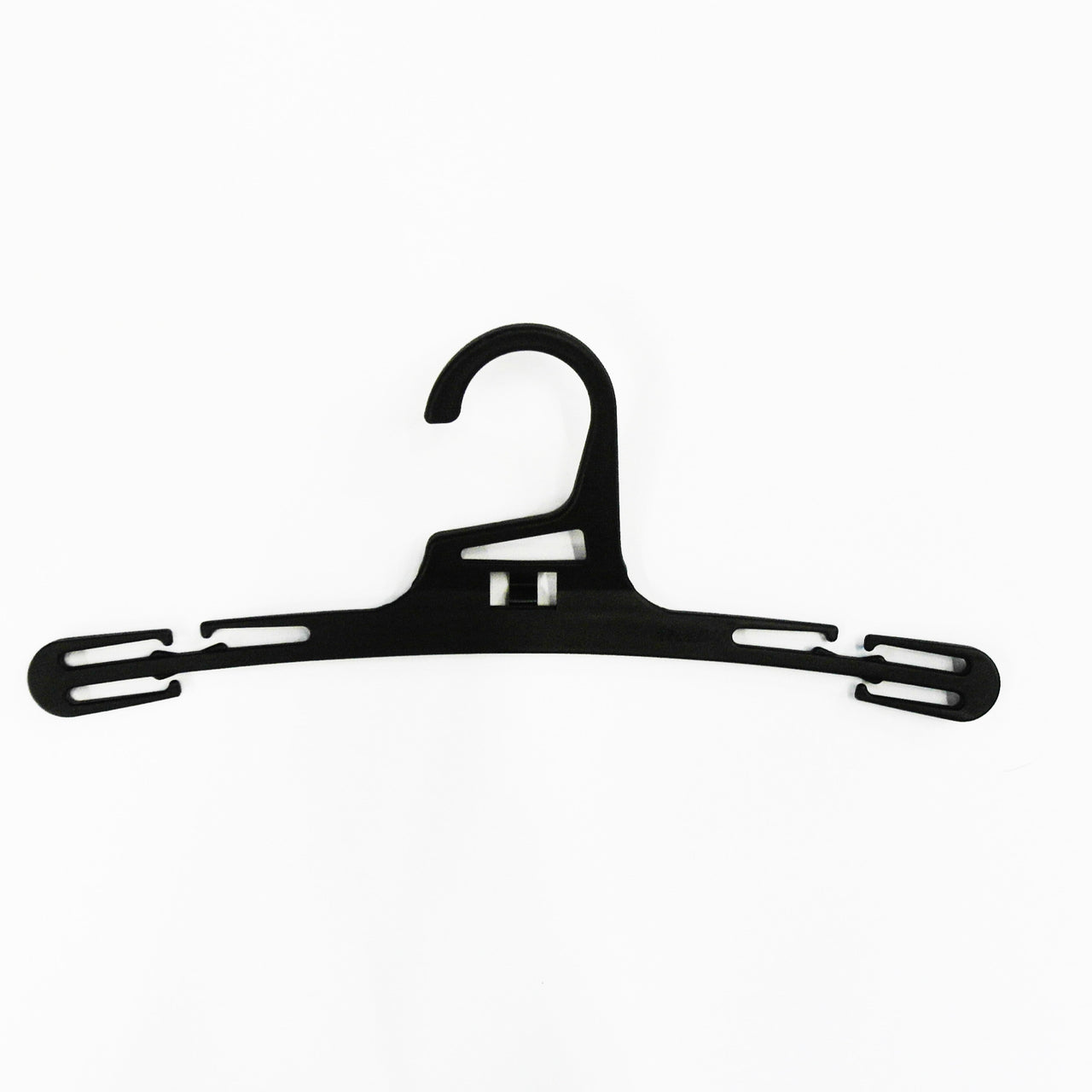 RENT Black Plastic Lingerie Hanger 165mm