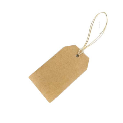 Luggage Swing Tag Brown 70X40mm (100pcs/ pack)