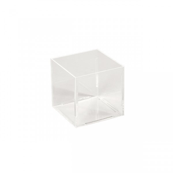 Acrylic Container Square 100 X 100 X 100Mm H