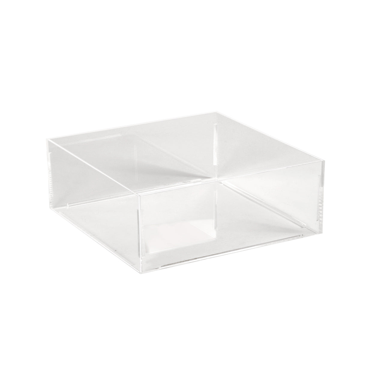 Acrylic container square  200 x 200 x 100 mm H M2715CA