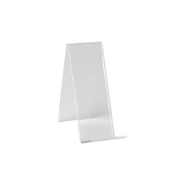 Angled acrylic display   150 H x 70 W x 125 mm D M4302CA