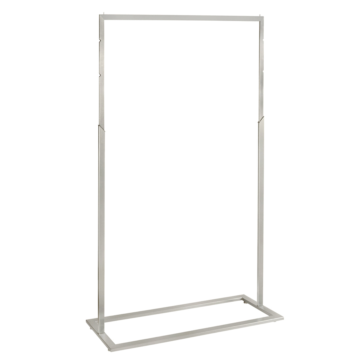 Style clothes rack with adjustable height 1200 mm w  1220 W x 1400-1900 H x 457 mmD R1522SC