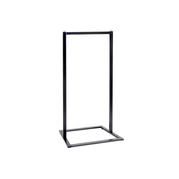 RENT Style Rack Single Rail Fits Maxe Fittings 600 W X 1300 H X 457Mm D RENTR3506BK
