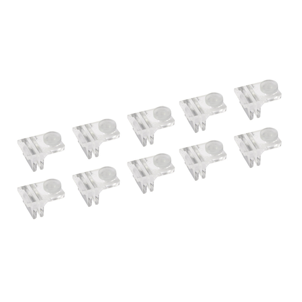 Shelf Support Clip Single Side Pack Of 10 S1388CA