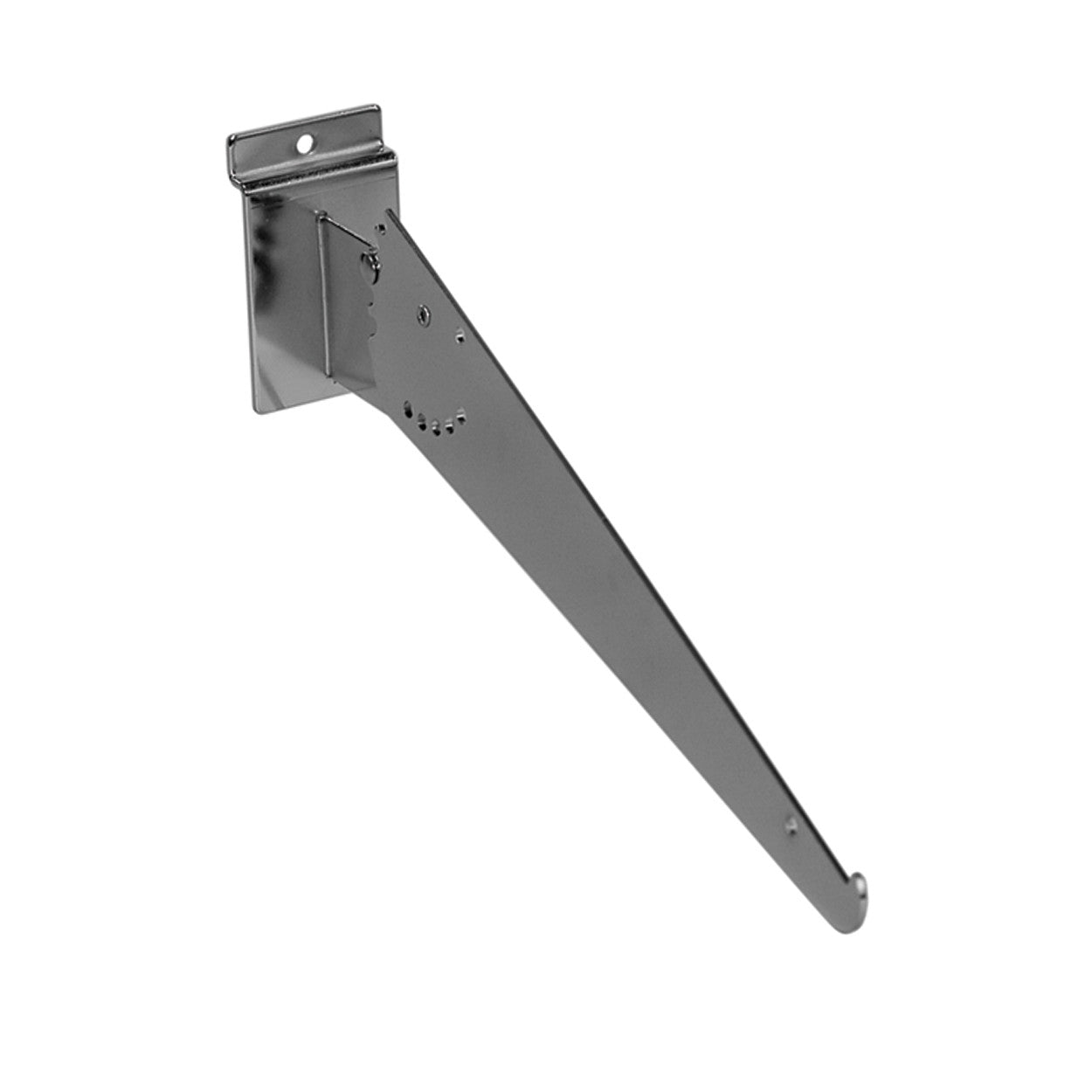 Slatwall shelf bracket 4 adjustable angles  300 mm L S1660CH