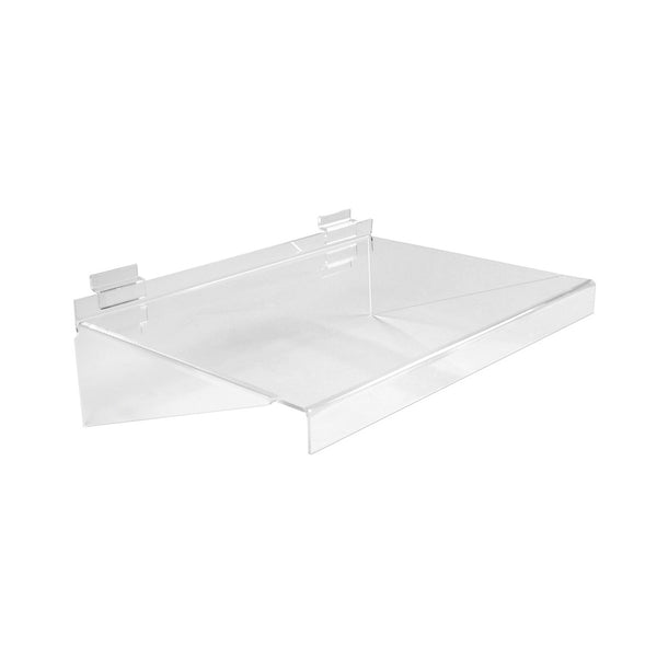 Slot System Acrylic Shelf  400W X 280 D X 133Mm H