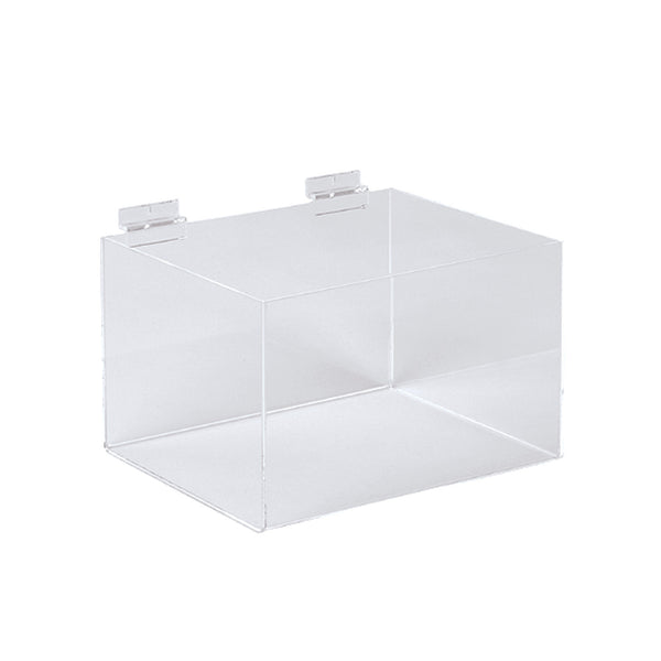 Slot System Acrylic Display Bin 293W X 200D X 150Mm H
