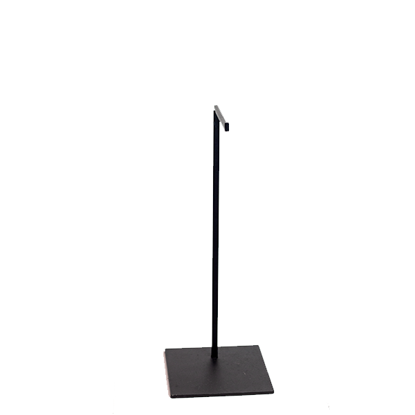 RENT Dark Grey Metal Small Bag Stand