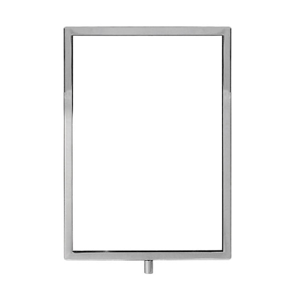 Signage Hardware Metal Ticket Frame Fits Stem A4 Portrait