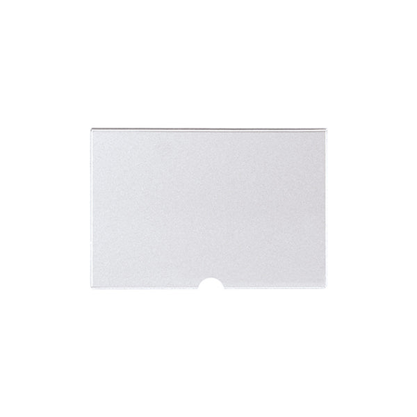 Acrylic Ticket Holder For Plastic Thumb Clamp A5 Landscape