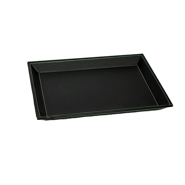 RENT Black Leather Jewellery Display Tray RENTLT1