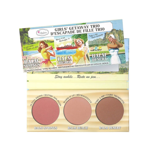 Girls Getaway Trio Long-Wearing Bronzer/Blush
