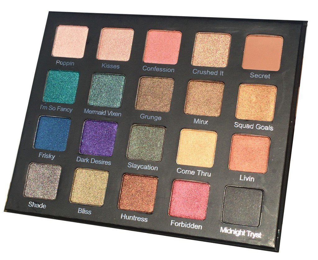 Eyes - Drenched Metal Shadow Palette