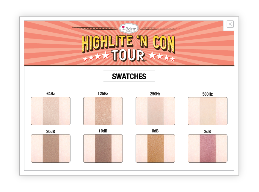 Eyes - Highlite 'N Con Tour - Highlight And Contour Palette