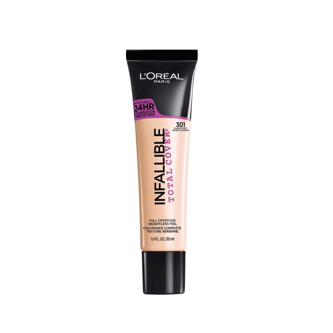 Face - Infallible Total Cover Foundation