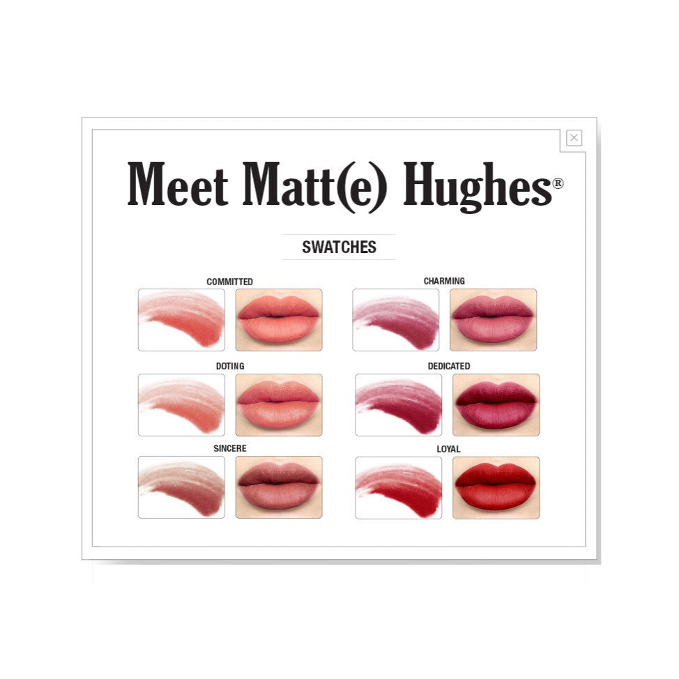 Lips - Meet Matte Hughe(s) Mini Set