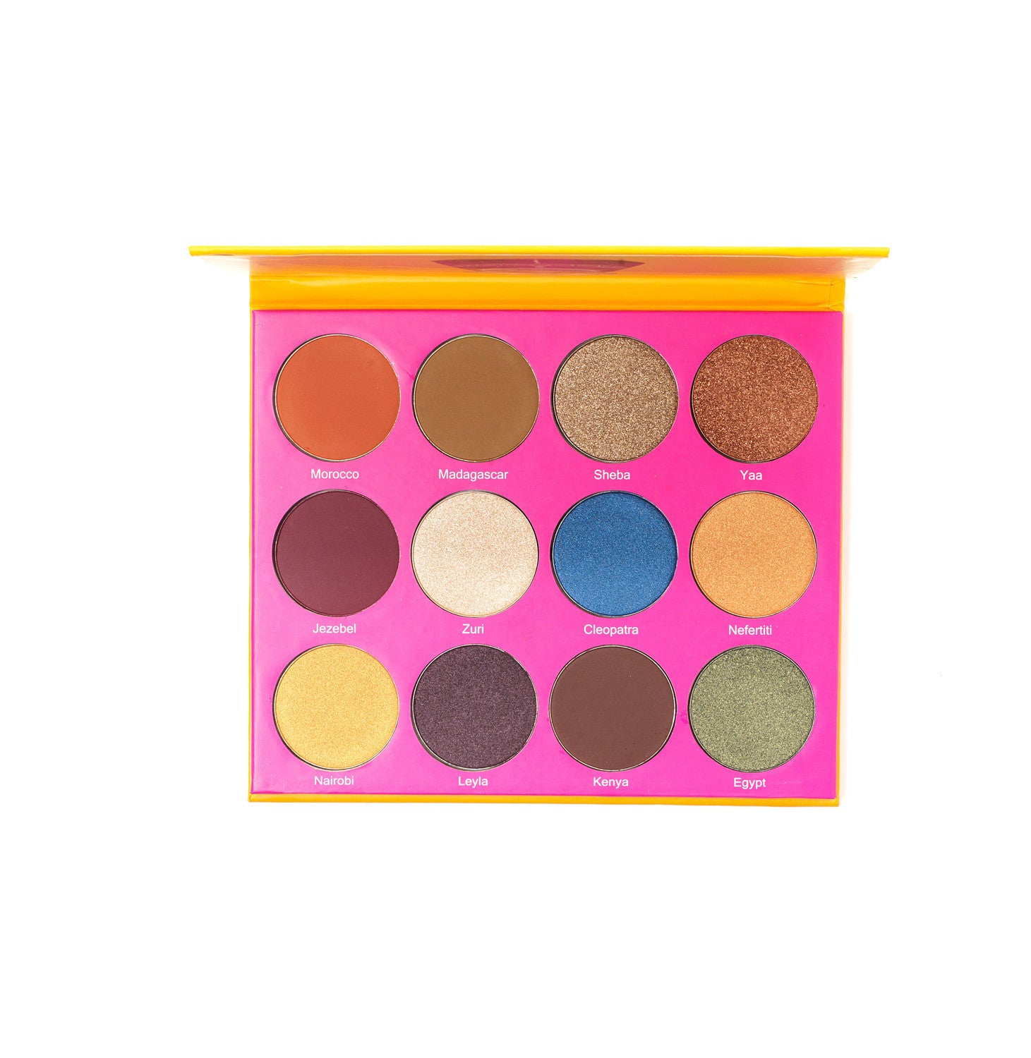 Palettes - The Nubian 2nd Edition Palette