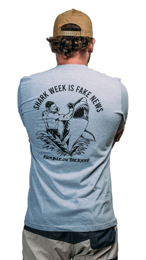 SHARK WEEK IS FAKE NEWS // 3 COLORS