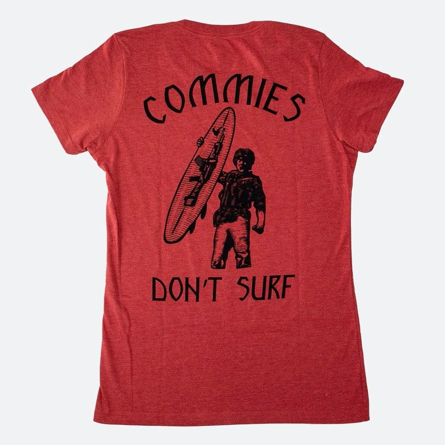 WOMEN COMMIES DONT SURF // 2 COLORS