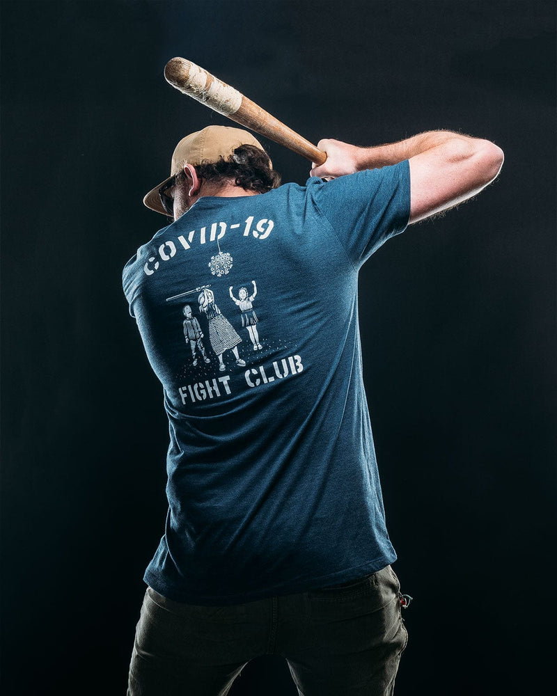 COVID-19 FIGHT CLUB // NAVY HEATHER