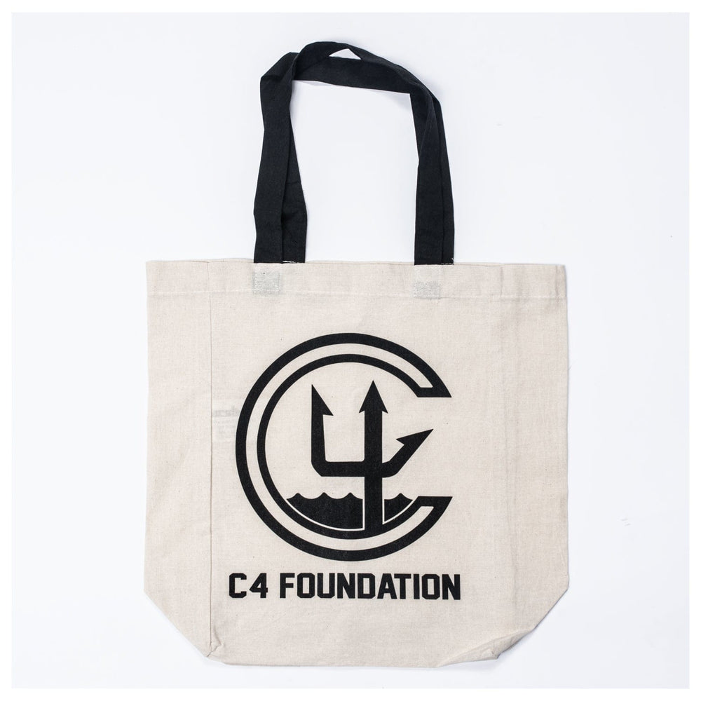 Ç4 FOUNDATION TOTE BAG // NATURAL