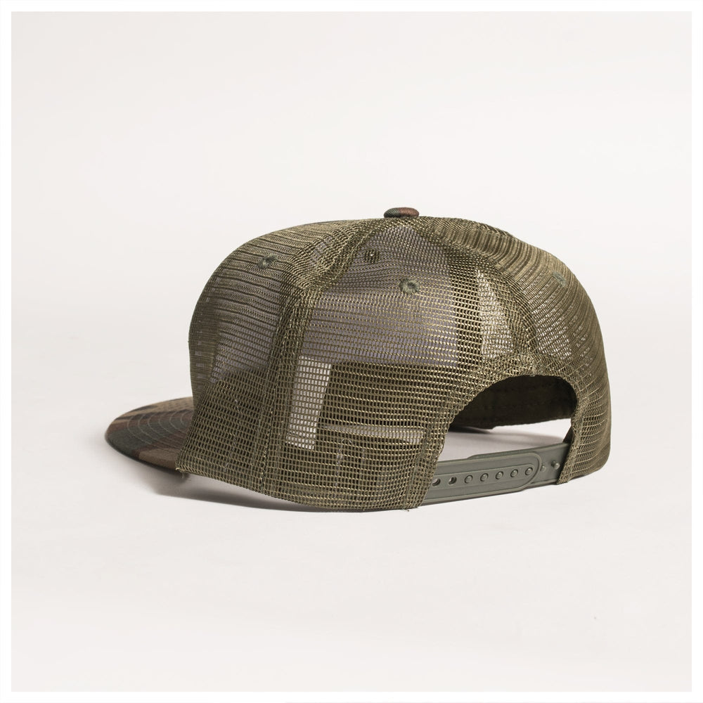 PATCH HAT TRUCKER SNAPBACK// CAMO