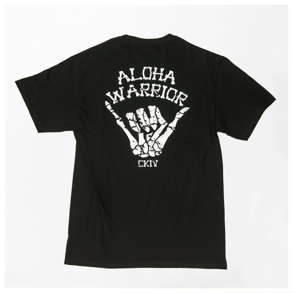 MEN'S ALOHA WARRIOR // SOLID BLACK