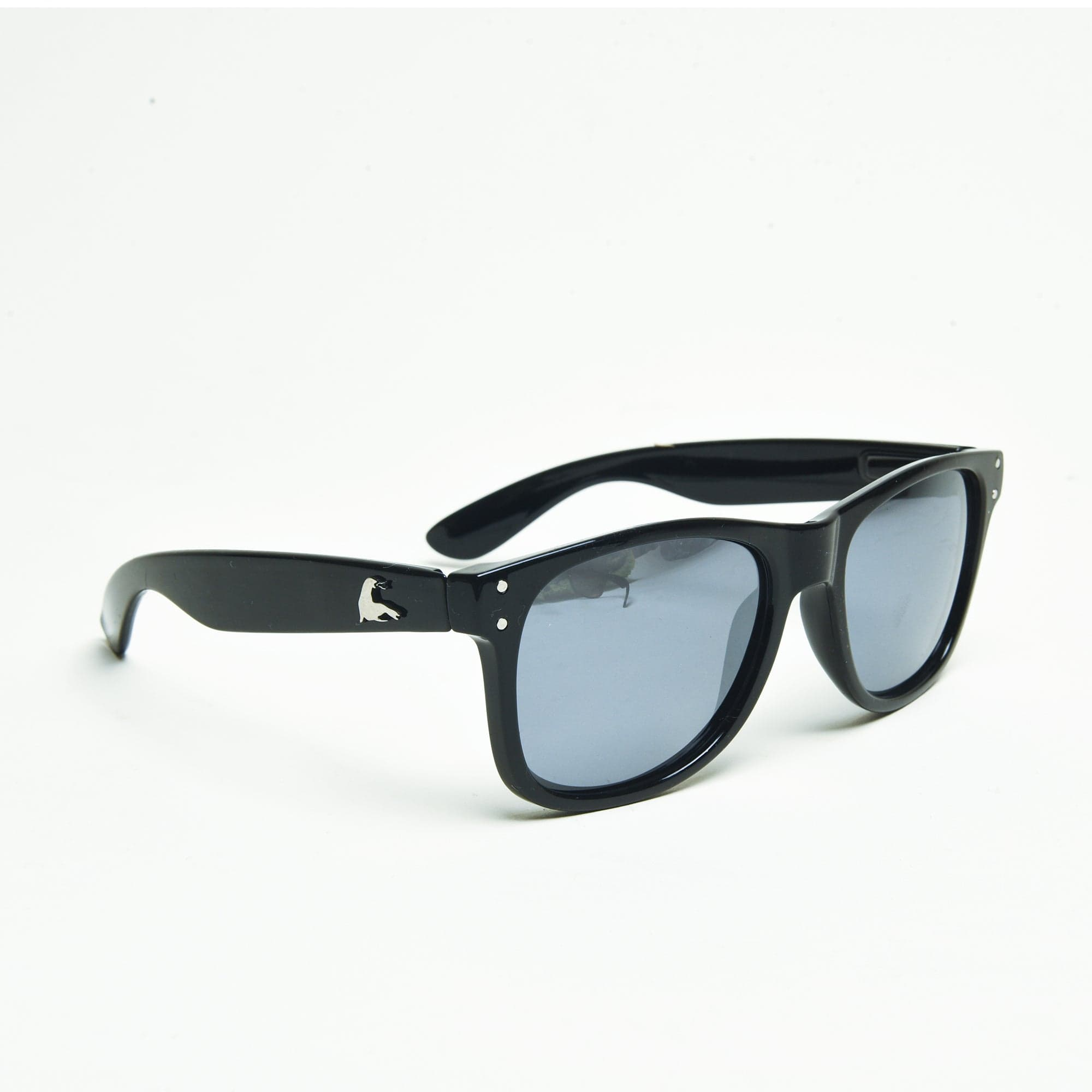 SEE MONSTER POLARIZED SHADES // METALLIC BLACK