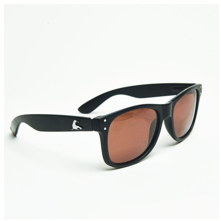 SEE MONSTER POLARIZED SHADES // MATTE BLACK