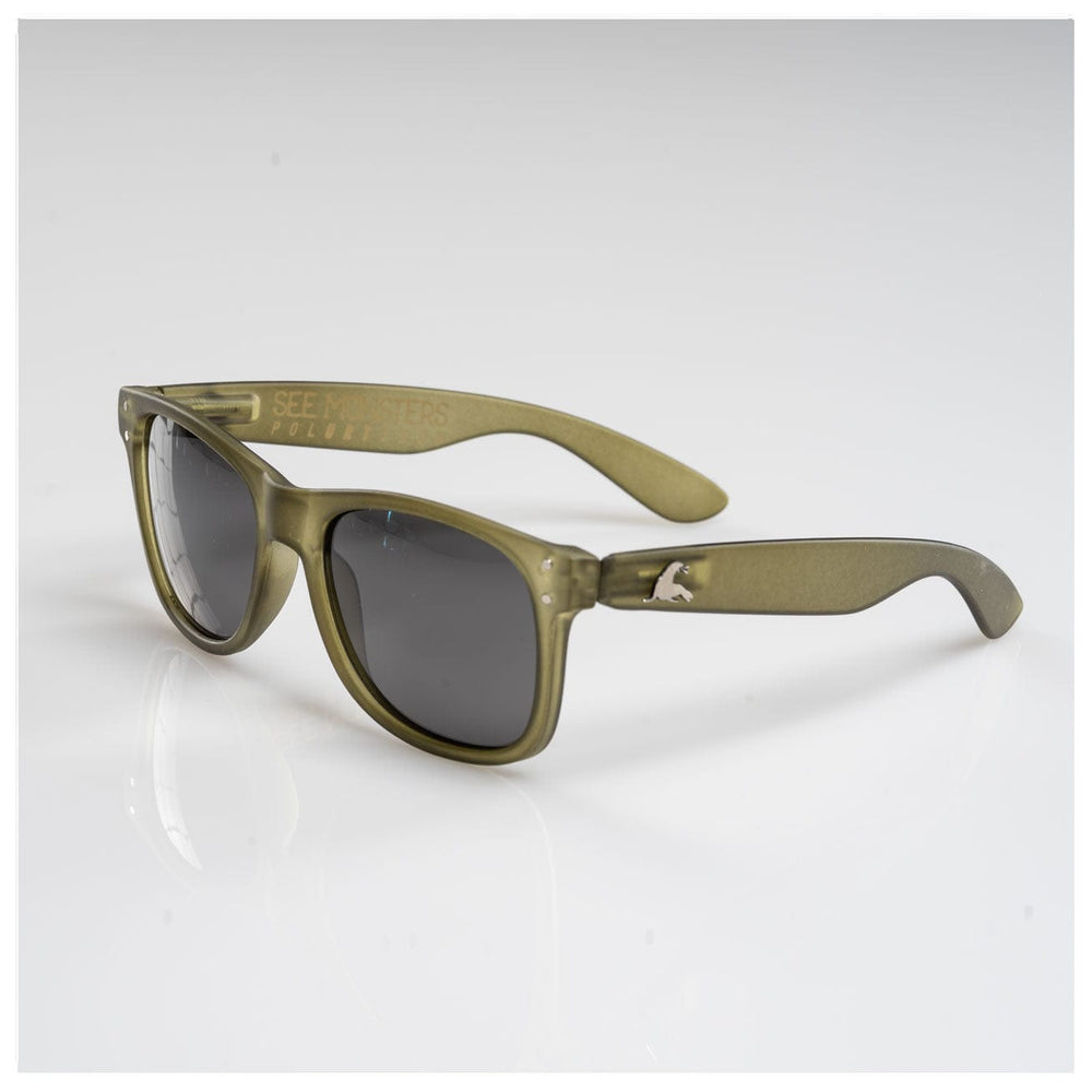 SEE MONSTER POLARIZED SHADES // OLIVE