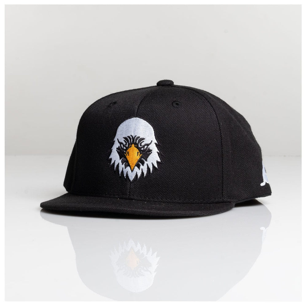 YOUTH AMERICAN EAGLE SNAPBACK // BLACK