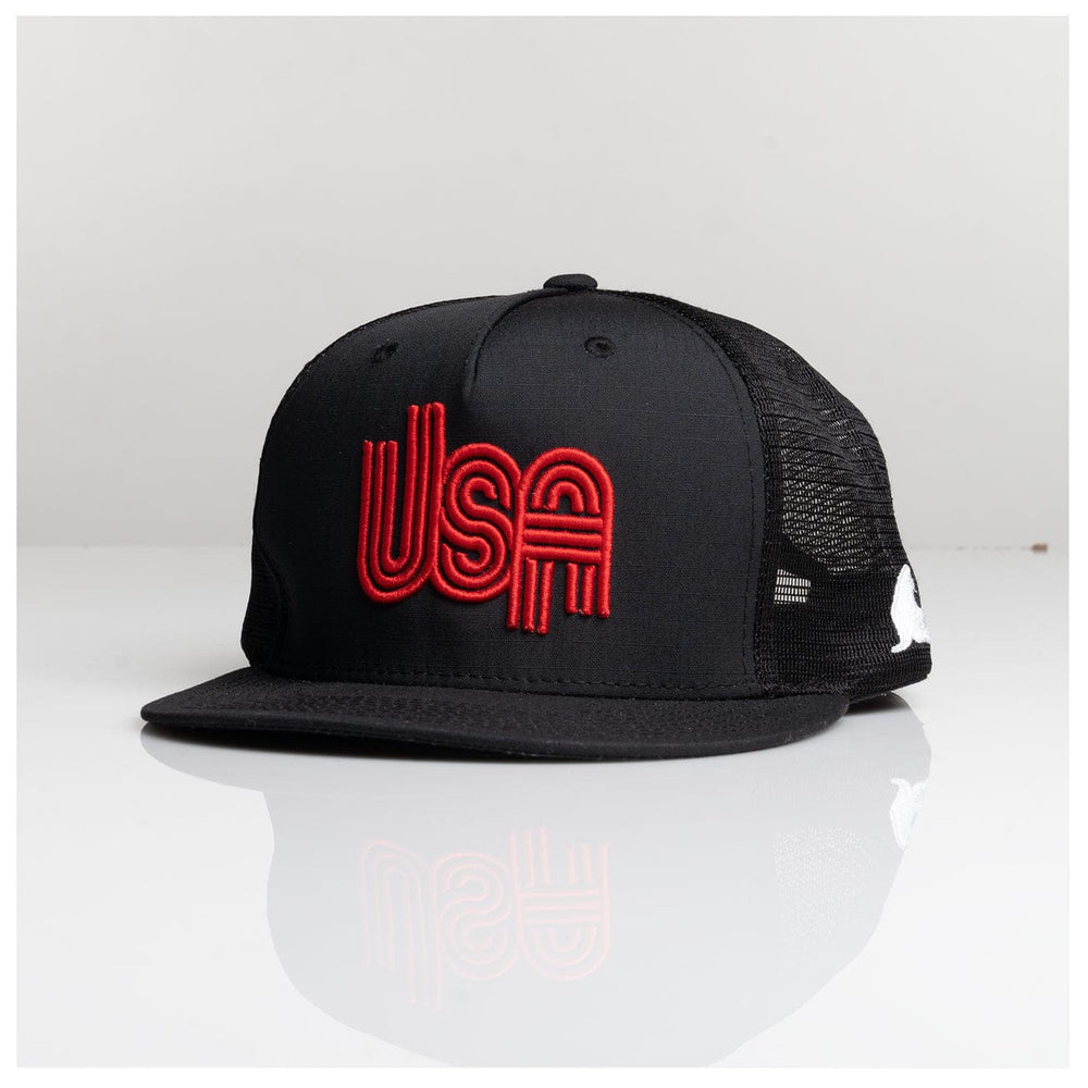 RETRO USA PUFF RIPSTOP TRUCKER // 3 COLORS